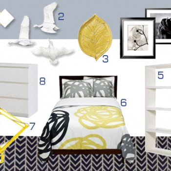 yellow-gray-bedroom-board