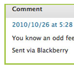 Best Spam Comment Ever