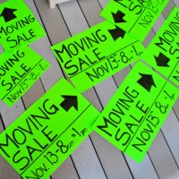 Setting Sale: Hosting A Moving Sale