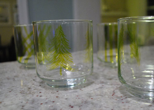 DIY Gift Idea: Using A Paint Pen On Some Glass Tumblers