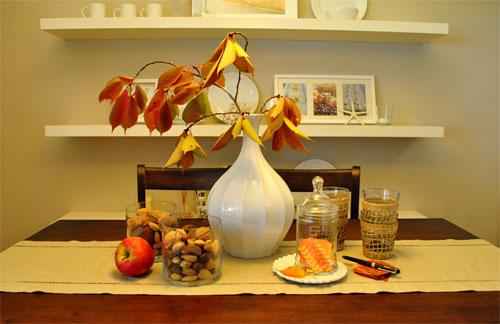 Leaf Me Alone: Some Seasonal Fall Decorating