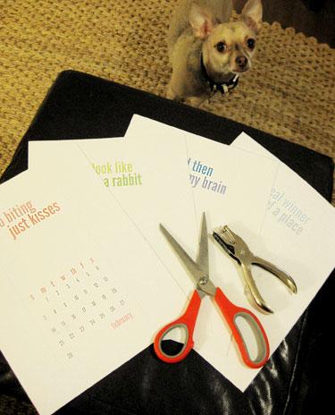 Our Free Annual Calendar Printable For Ya