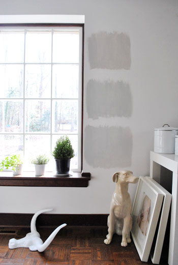 Choosing The Right Gray Paint Color…