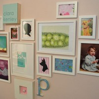 Wall Art Goes Up In Clara's Nursery