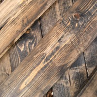 How To Make New Wood To Look Old & Rustic