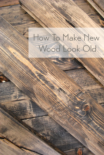 bb2443c758f9 how to distress wood making new wood look old