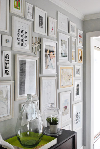 How To Make A Giant Hallway Frame Gallery
