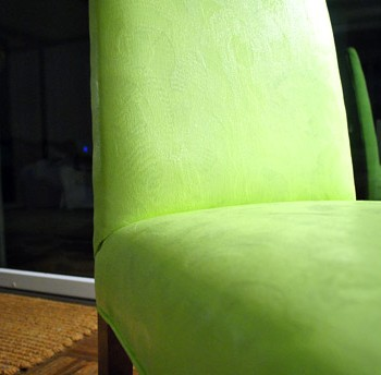 Adventures In Painting An Upholstered Chair (Yes Painting It!)