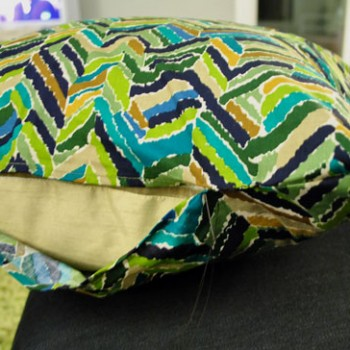 Sew Simple: How To Make A Pillow From Two Cloth Napkins