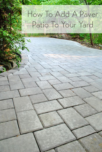 How to build a paver patio its done young house love how to add a paver patio solutioingenieria Image collections