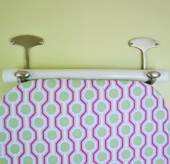 How To Hang Your Ironing Board On The Wall (The Easy Way)