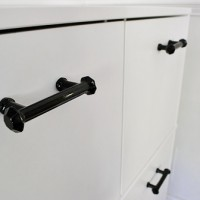 Adding Hardware To An Ikea Cabinet (And Hiding The Printer)