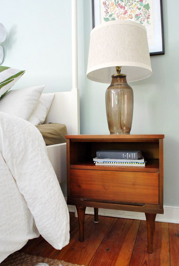 Side Tables And Other Bedroom Tweakage