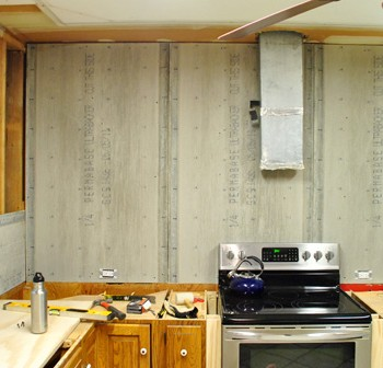 How To Hang Cement Backer Board For A Wall Full Of Tile