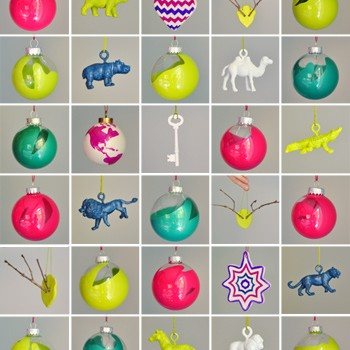 How To Make 38 Simple (& Cheap!) Homemade Christmas Ornaments