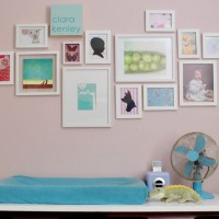 Nursery Art Expansion: How Our Gallery Wall Is Growing