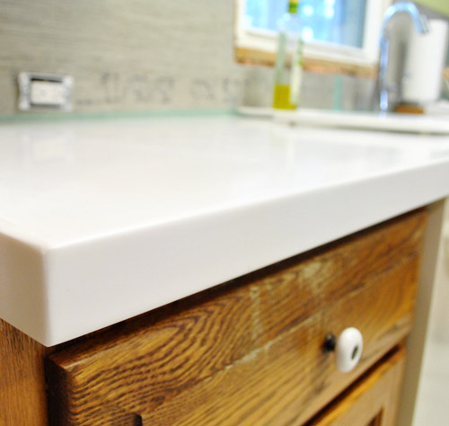 Our White Corian Counters Are In – And We Love Them!