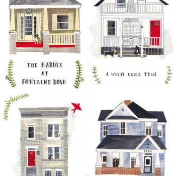 Fab Freebie: Home Sweet Illustrated Home