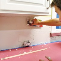 Mixing Thinset, Applying It With A Trowel, & Other Tiling Tips