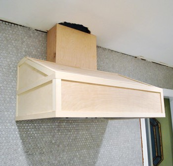 Gotcha Covered: Building A Wood Range Hood Cover