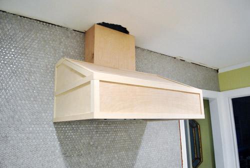 Gotcha Covered: Building A Wood Range Hood Cover