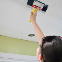 How To Patch And Spackle Ceiling Holes