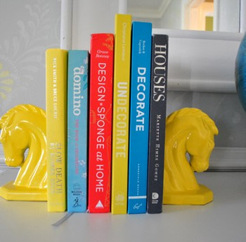 Horse Squared: Colorful DIY Bookends