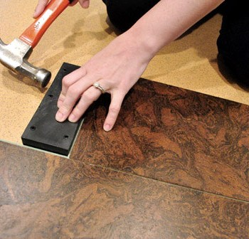 How To Install A Floating Cork Floor
