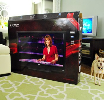 For Our Viewing Pleasure: Buying A Bigger TV