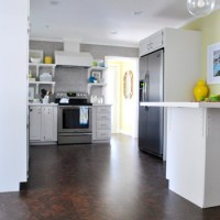 Completing Our Kitchen's Cork Floor Installation