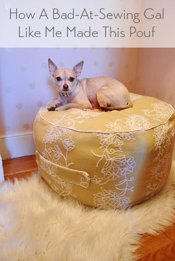 Miraculous Winter Pinterest Challenge How To Make A Beanbag Pouf Inzonedesignstudio Interior Chair Design Inzonedesignstudiocom