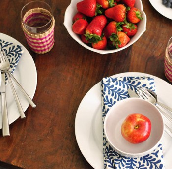 Three Festive Fourth Of July Table Settings