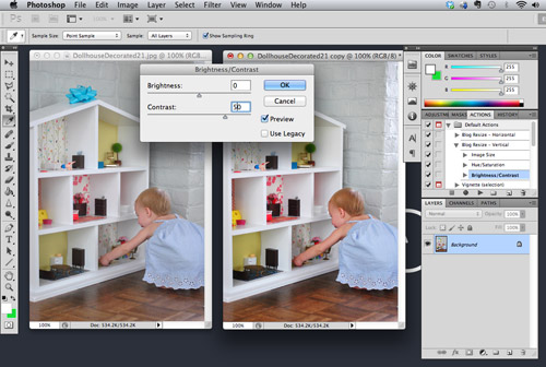 Photoshop-ing Spree: How We Use Photoshop For Blog Pics