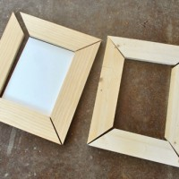 Making Simple Scrap Wood Picture Frames