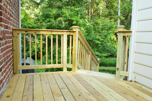 How To Build A Deck: It's DONE!!!