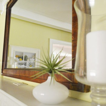 Trading Our Too-Small Mirror Over The Mantel