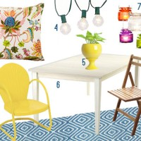 Mood Board: Outdoor Deck Furniture & Accessories