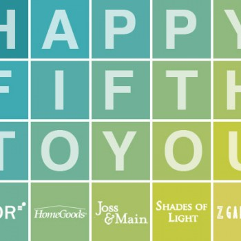 Fab Freebie: Happy Fifth To You