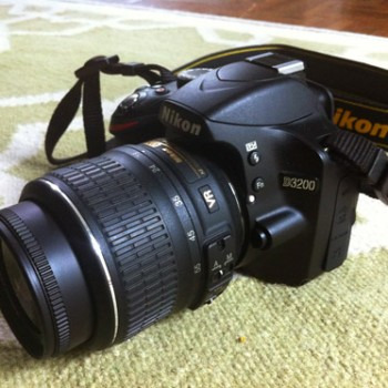 Accidental Upgrade: Our New DSLR Camera