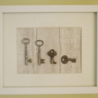The Keys To My Heart: A Quick & Personal Art Project