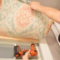 How To Make A Fifteen Minute DIY Window Shade