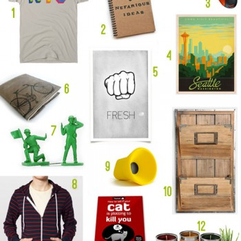 12 Fun Holiday Gifts For The Guys (2012 Edition)