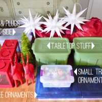 How We Pack Up And Store All Of Our Christmas Decorations