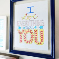 How To Make A Fast & Easy Floating Frame