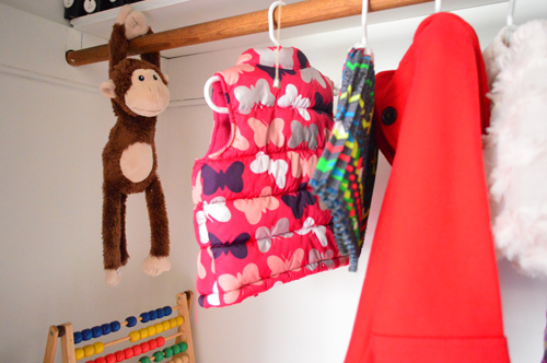 A Small Kids Closet That Doubles As A Play Space