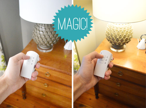Adding remotes to our bedside lamps