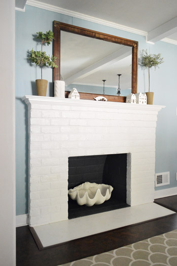 Fireplace Makeover Planning Buying Materials Young House Love