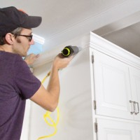 How To Add Crown Molding To The Top Of Your Cabinets