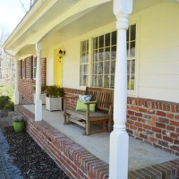 Removing Scalloped Porch Trim & Fixing The Columns