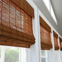 It's Gettin Hot In Hur, So Add Some Bamboo Blinds